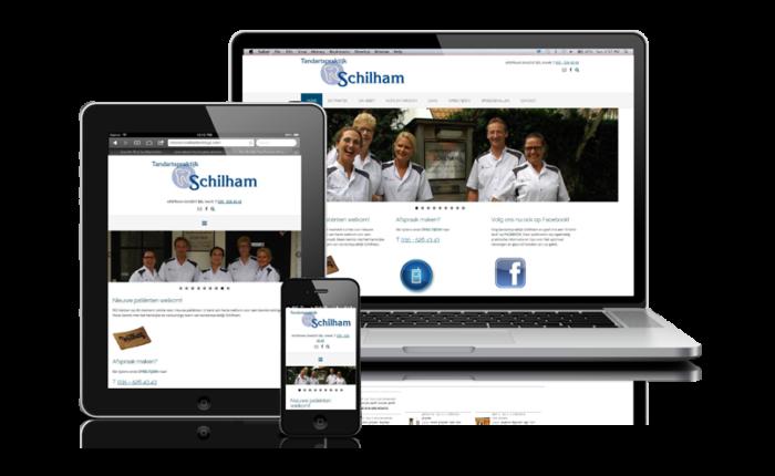 Tandartspraktijk Schilham - Portfolio Omnia Interactive