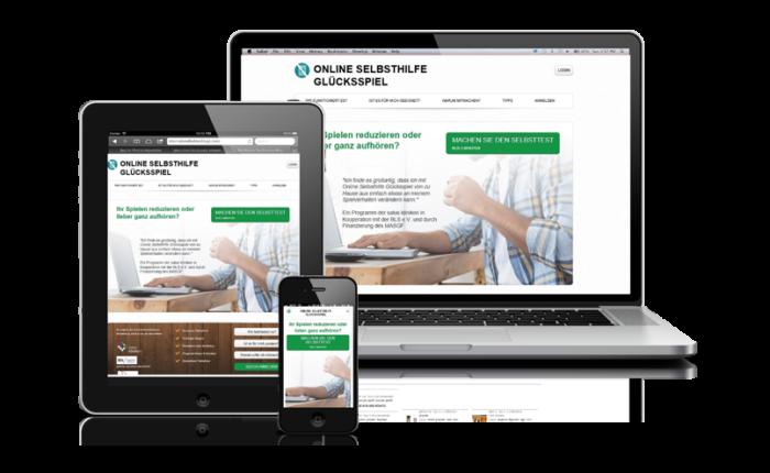 Online Selbsthilfe Glücksspiel - Portfolio Omnia Interactive