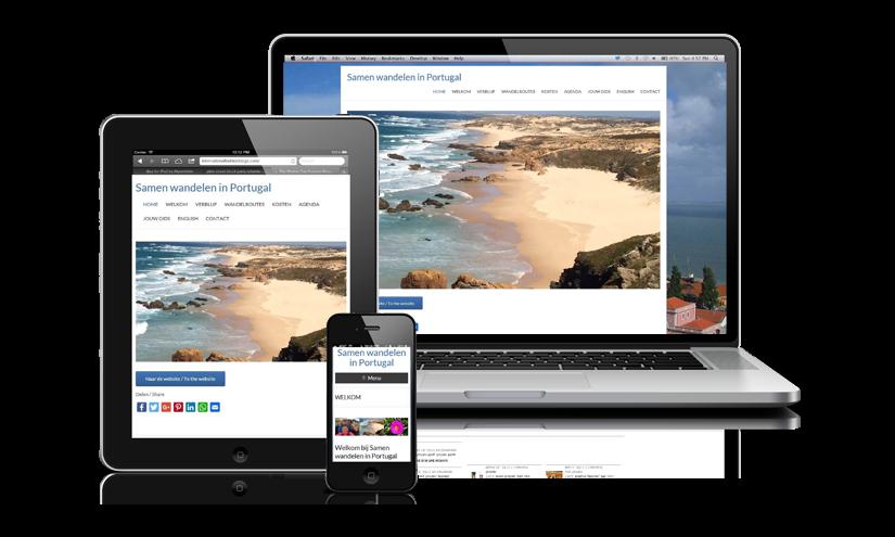Samen Wandelen In Portugal - Portfolio Omnia Interactive